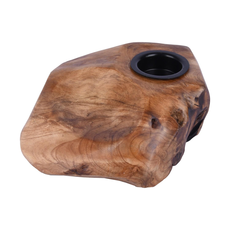 قاعدة شمع خشب شكل متنوع