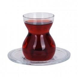 طقم كاسات شاي 6 باشا 96575