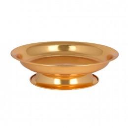 صحون تقديم ذهبي بقاعدة 30702