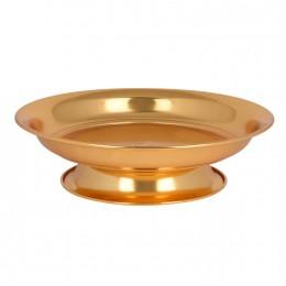 صحون تقديم ذهبي بقاعدة 30703