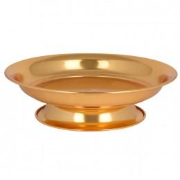 صحون تقديم ذهبي بقاعدة 30704