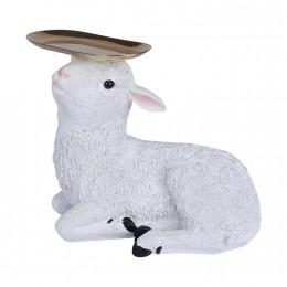 خروف تحفة بصحن بيضاوي B2021061