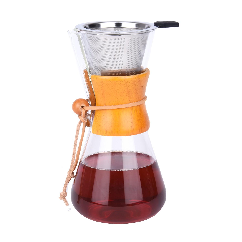 دله قهوه مع مصفي ستيل 3510238