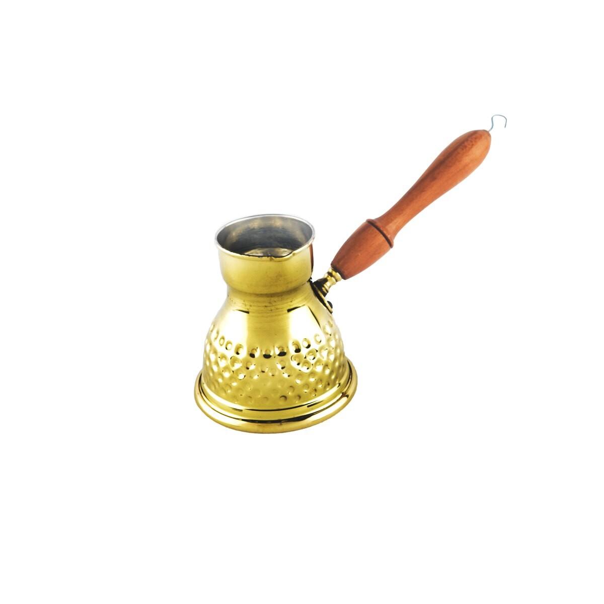 ركوة للقهوة التركية نحاس 150مل صغير منقوش