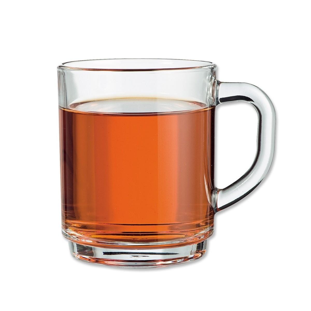 طقم اكواب شاي فرنسيه ٦ قطعة 8097