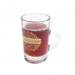 كاسات شاي بيد مذهب 6 قطعة DJ-42475