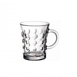 طقم كاسات شاي زجاج 2 قطعة بيد 55891