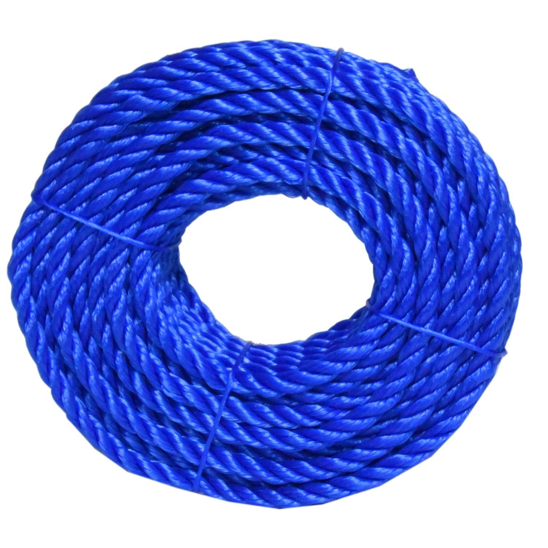 حبل مقاس 7 مل لون ازرق