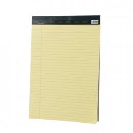 دفتر  نوتة ورق اصفر مسطر 21*33 سم  23002