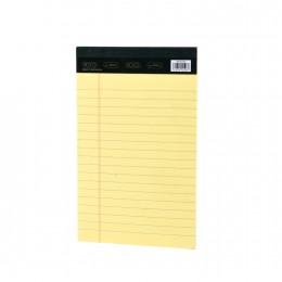 دفتر  نوتة ورق اصفر مسطر 13*20سم
