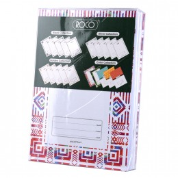 دفاتر روكو سلك  80 ورقة انجليزي 6 قطعة  10373