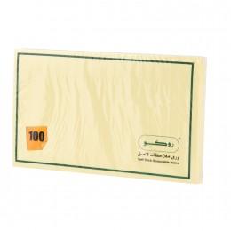 ورق ملاحظات لاصق اندونيسي ١٠٠ ورقة  3*5 RQ-6514
