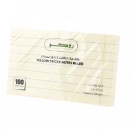 ورق ملاحظات لاصق ١٠٠ ورقة  RQ-6514