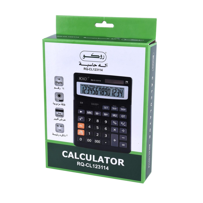الة حاسبة روكو موديل رقم  CL123114