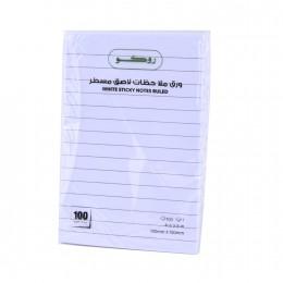 ورق ملاحظات لاصق من روكو ١٠٠ ورقة 6614RLWB