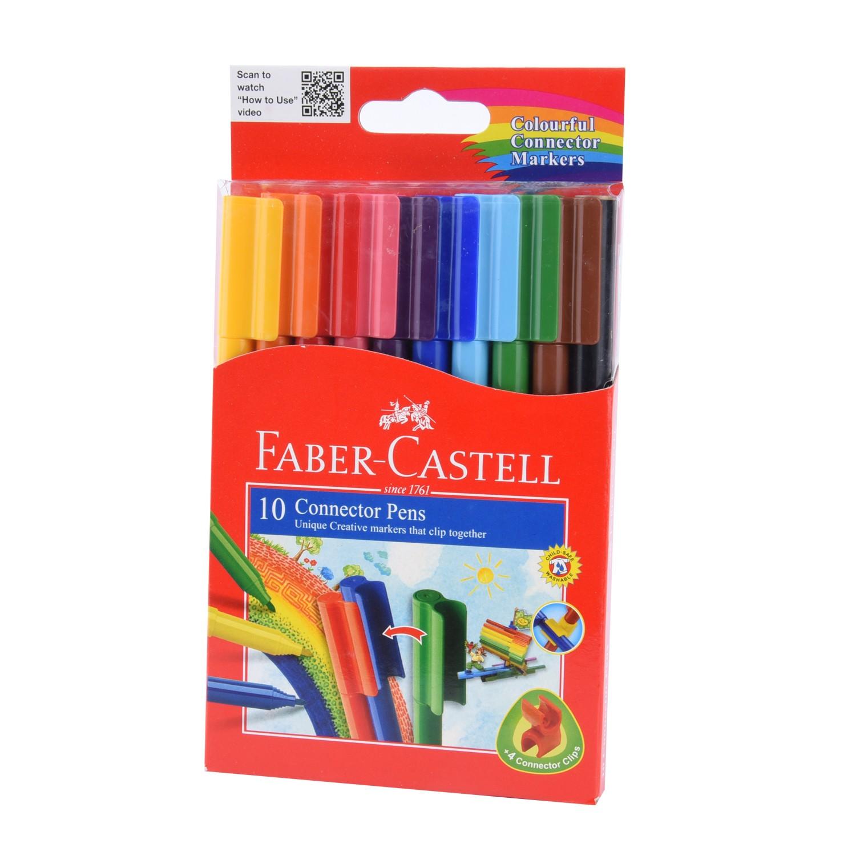 مجموعة الوان فلوماستر ١٠ لون من فيبر كاستل  11150A