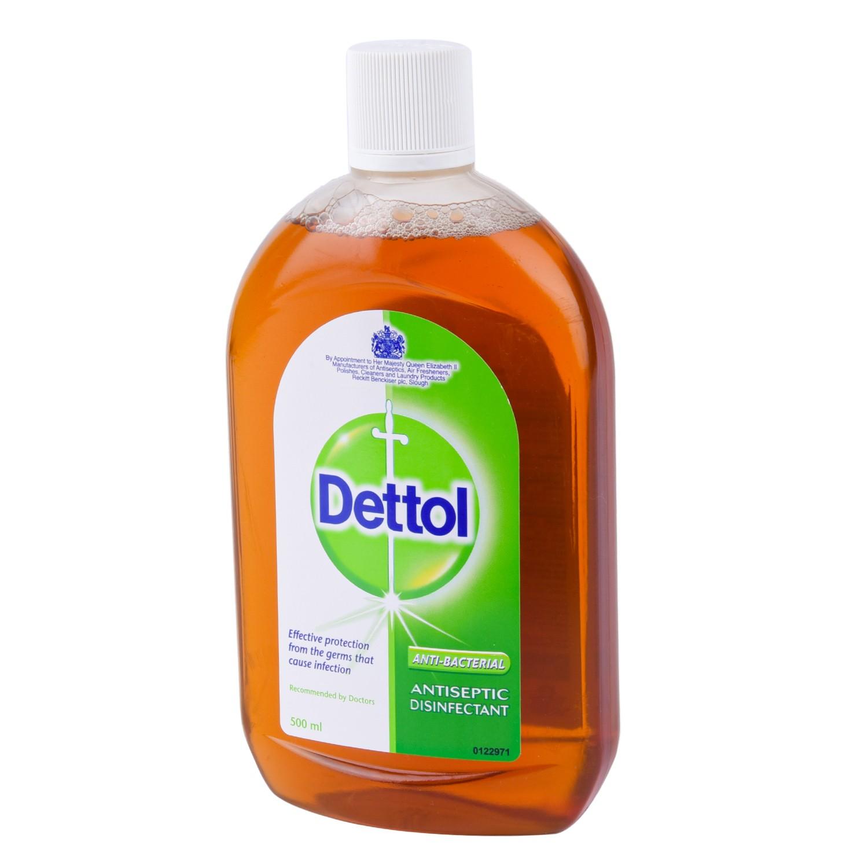 ديتول محلول مطهر اورجينال 500 مل