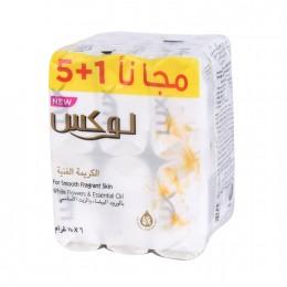 صابون لوكس  الكريمة الغنية  6حبات *75جرام