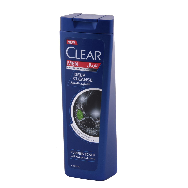شامبو كلير 200ملي للرجال للتنظيف العميق بالفحم والنعناع