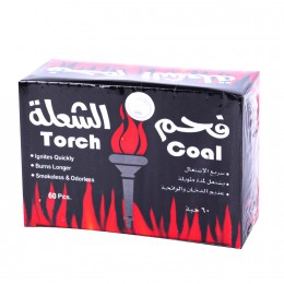 فحم الشعلة كبير همسة 60 حبة
