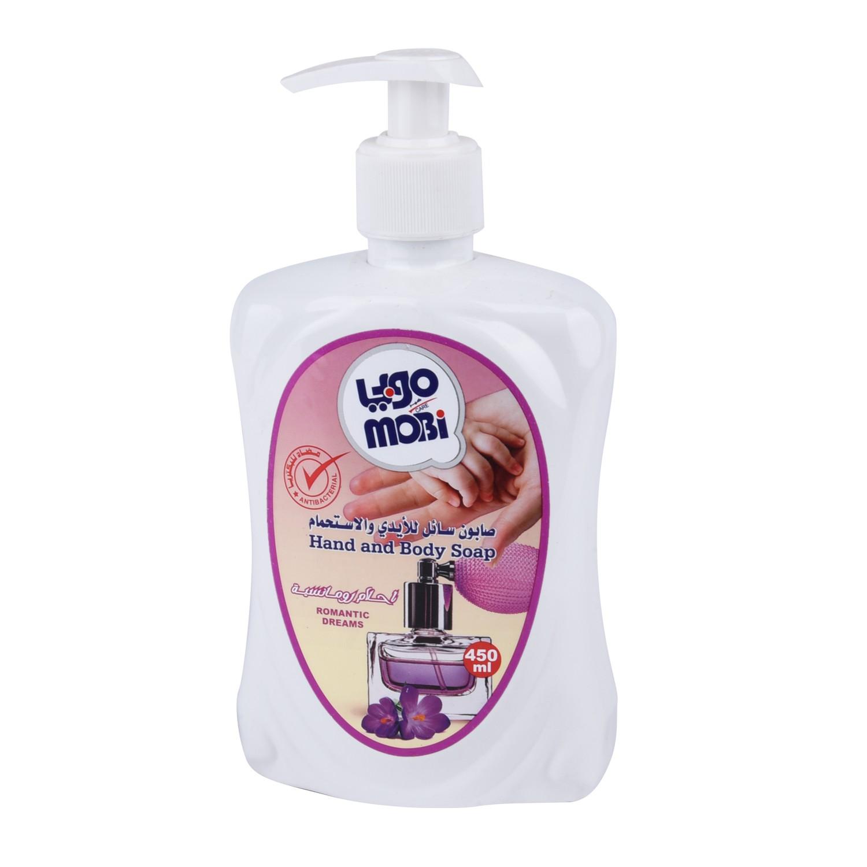موبي صابون سائل للأيدي احلام رومانسية، 450 مل