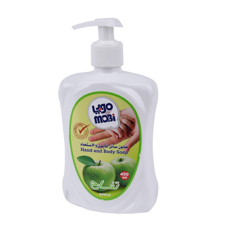 موبي صابون سائل للأيدي برائحة التفاح ، 450 مل