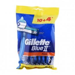 ماكينات حلاقة بلو II بلس ميجا من جيليت، 14 قطعة