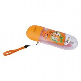 معجون اسنان بالبرتقال الفلورايد للاطفال من مسواك إف