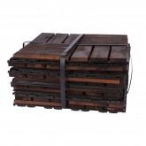 ارضية خشبية 30*30سم 9 قطعة  مربعة