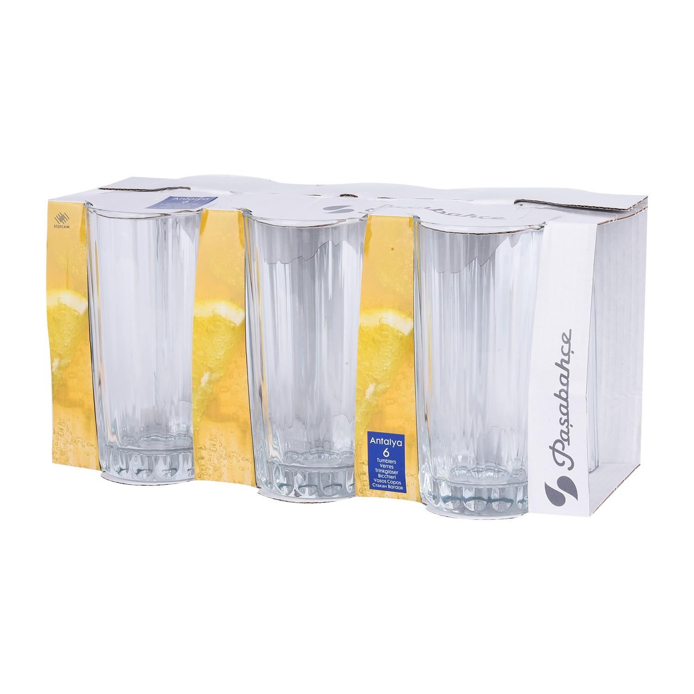 طقم كاسات ماء زجاج تركي 6 قطعة  52279