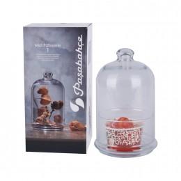علبة سكر وحلويات زجاج  96701
