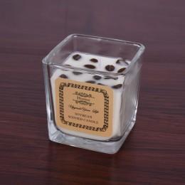 شمع عطري بعلبة زجاج D3224