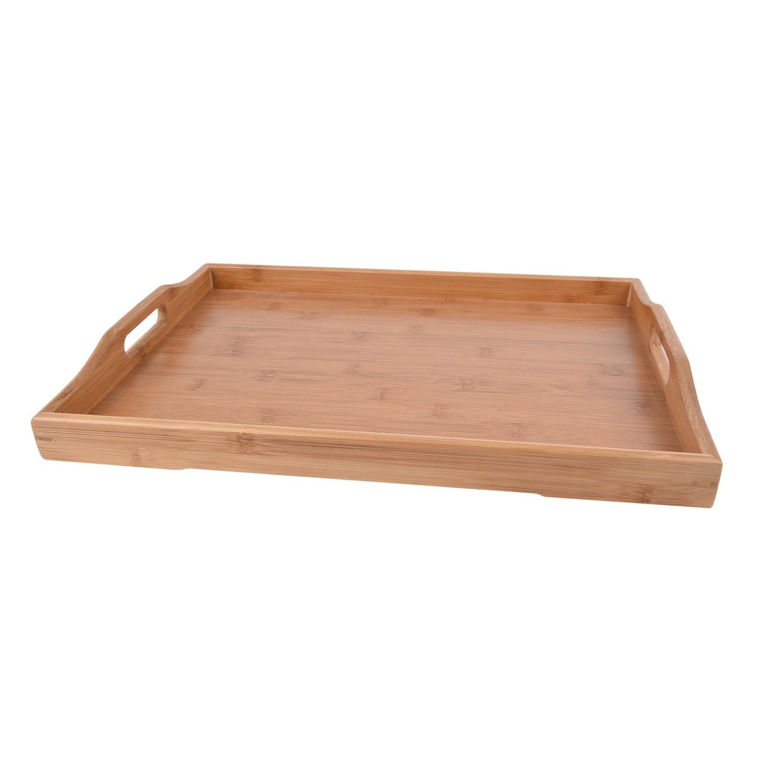 صينية تقديم خشبية مستطيلة ٣٢ سم D-4118/3
