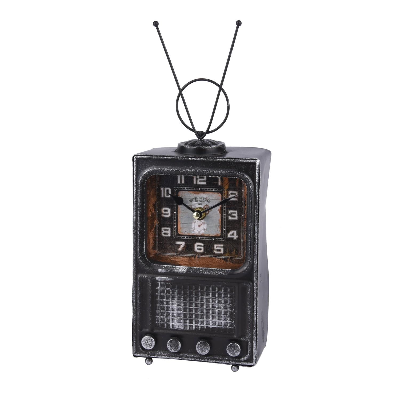 تحفة ساعة حديد شكل راديو قديم ابيض  98331