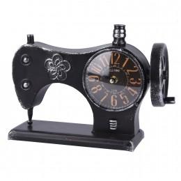 تحفة ساعة شكل مكينة خياطة اسود  ستيل  98330