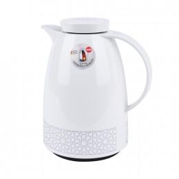 ترمس شاي وقهوة من امزا الالمانية بنقش فضية انيقة 1.5لتر